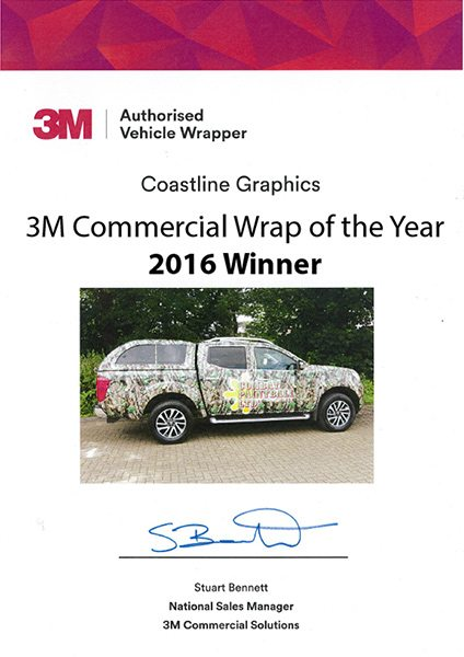 3M Commercial Wrap of the Year 2016