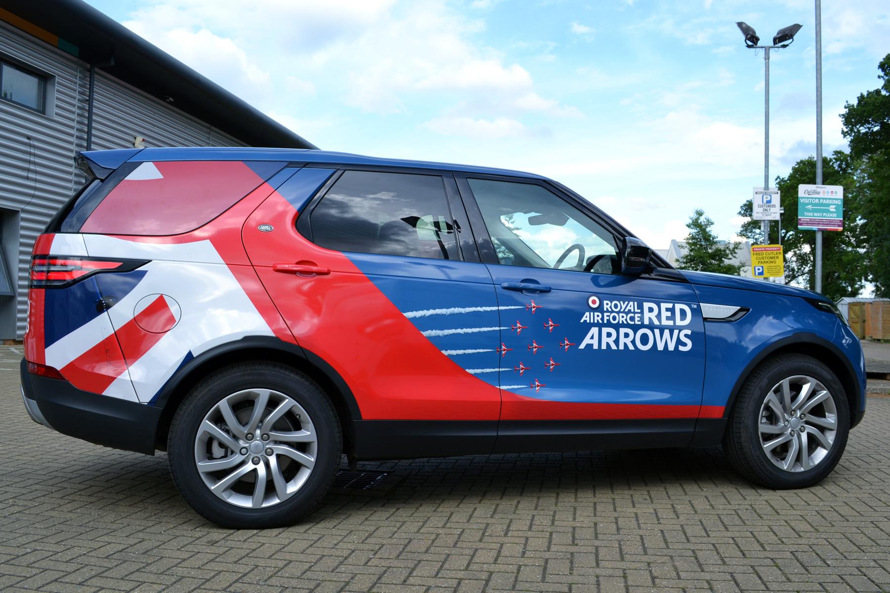 Aston Martin Cambridge Amp Raf Red Arrows Coastline Graphics